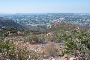 View from South Fortuna Summit at Mission Trails