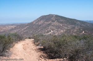 Heading towards Fortuna Saddle at Mission Trails