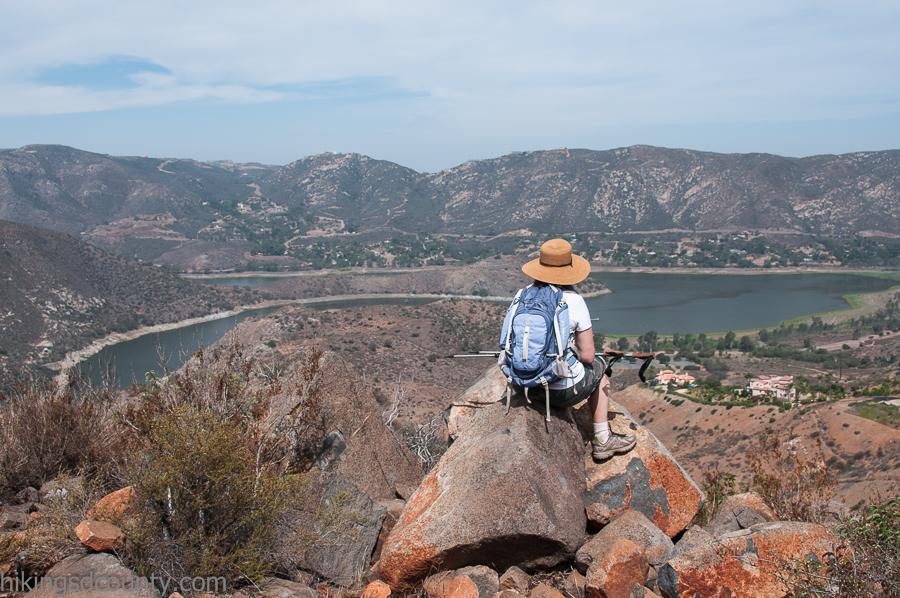 View from Berndardo Mountain Summit