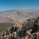 View from the top of Garnet Peak