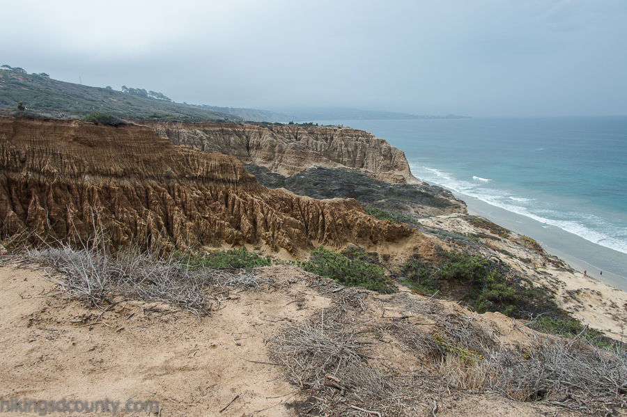 View of Big Basin from the Razor Point trail at Torrey Pines