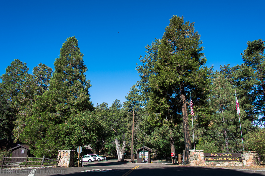 Paso Picacho Campground at Cuyamaca Rancho State Park