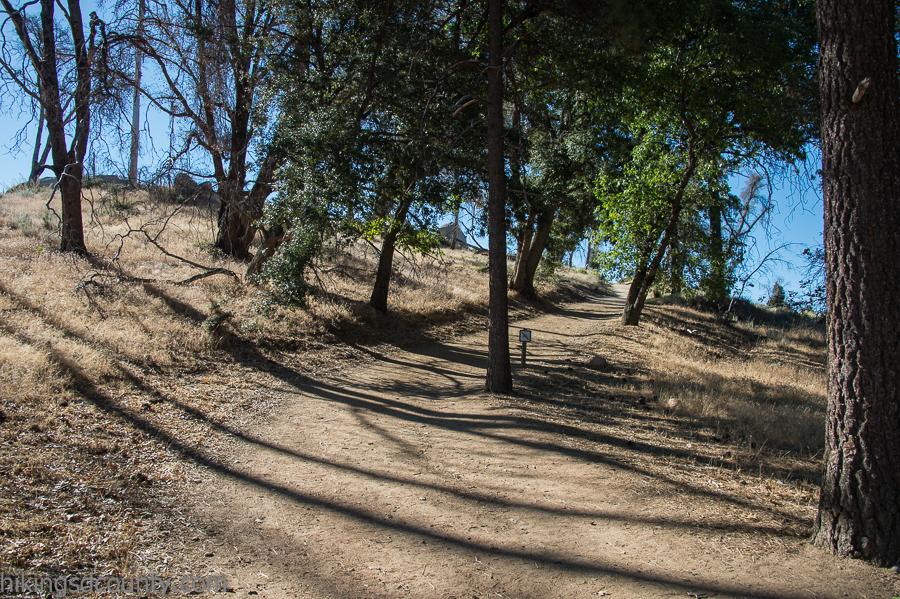 Stonewall Peak trail at Cuyamaca Rancho State Park