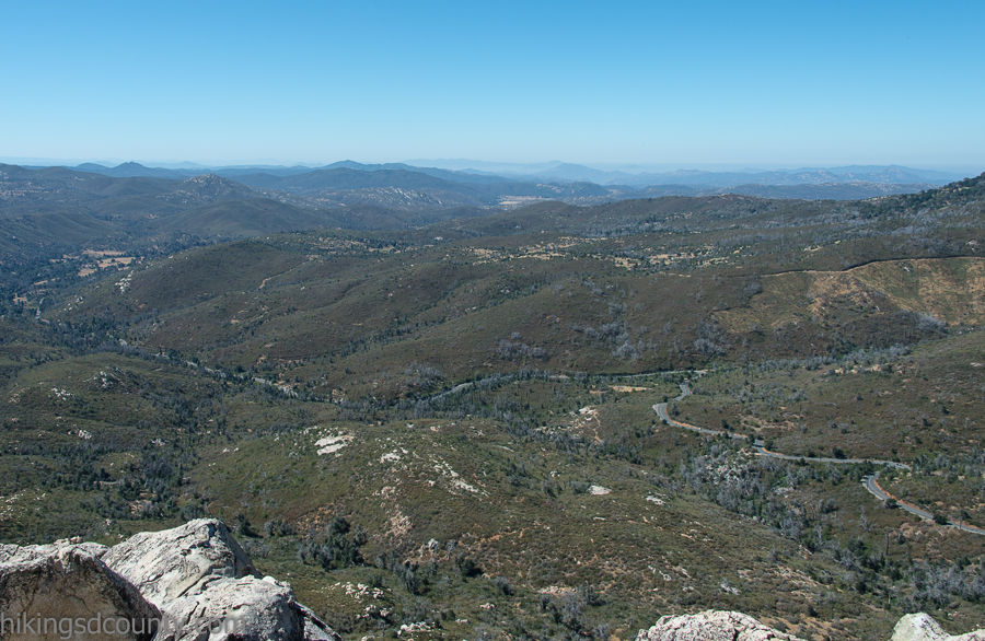 View to the South from Stonewall Peak