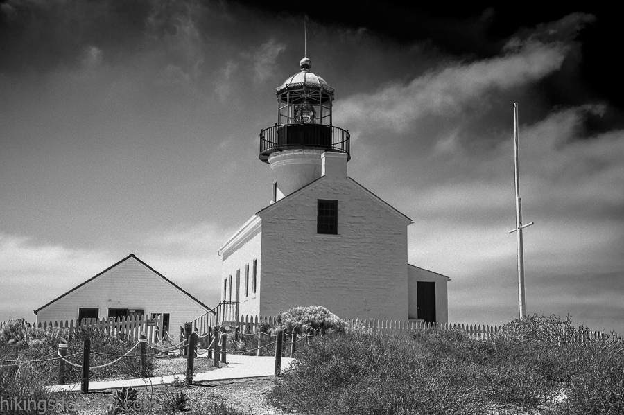 The Old Point Loma Lighthouse at Cabrillo National Monument
