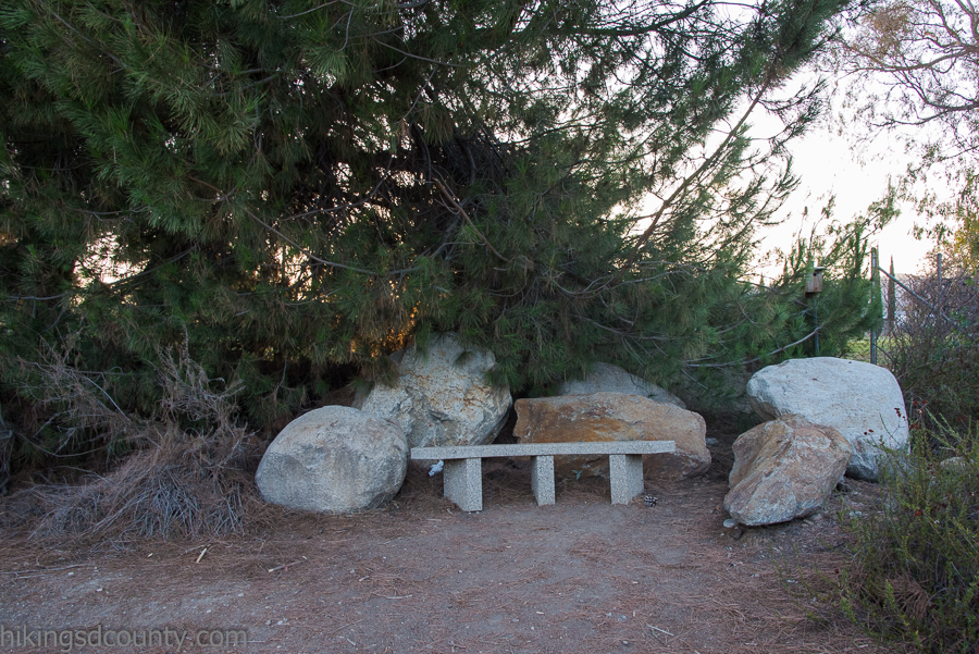 A tranquil resting spot at Lakeside River Park