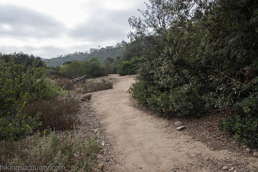 The Tecolote Canyon trail