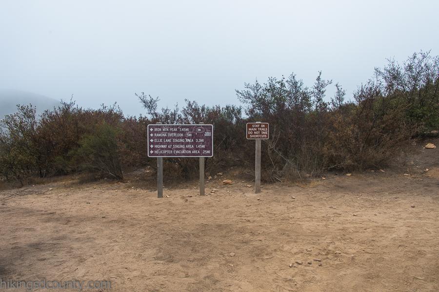 Halfway to the Iron Mountain Peak
