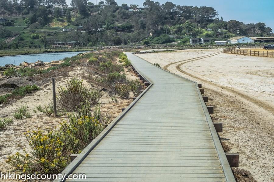 The San Dieguito Lagoon Boardwalk