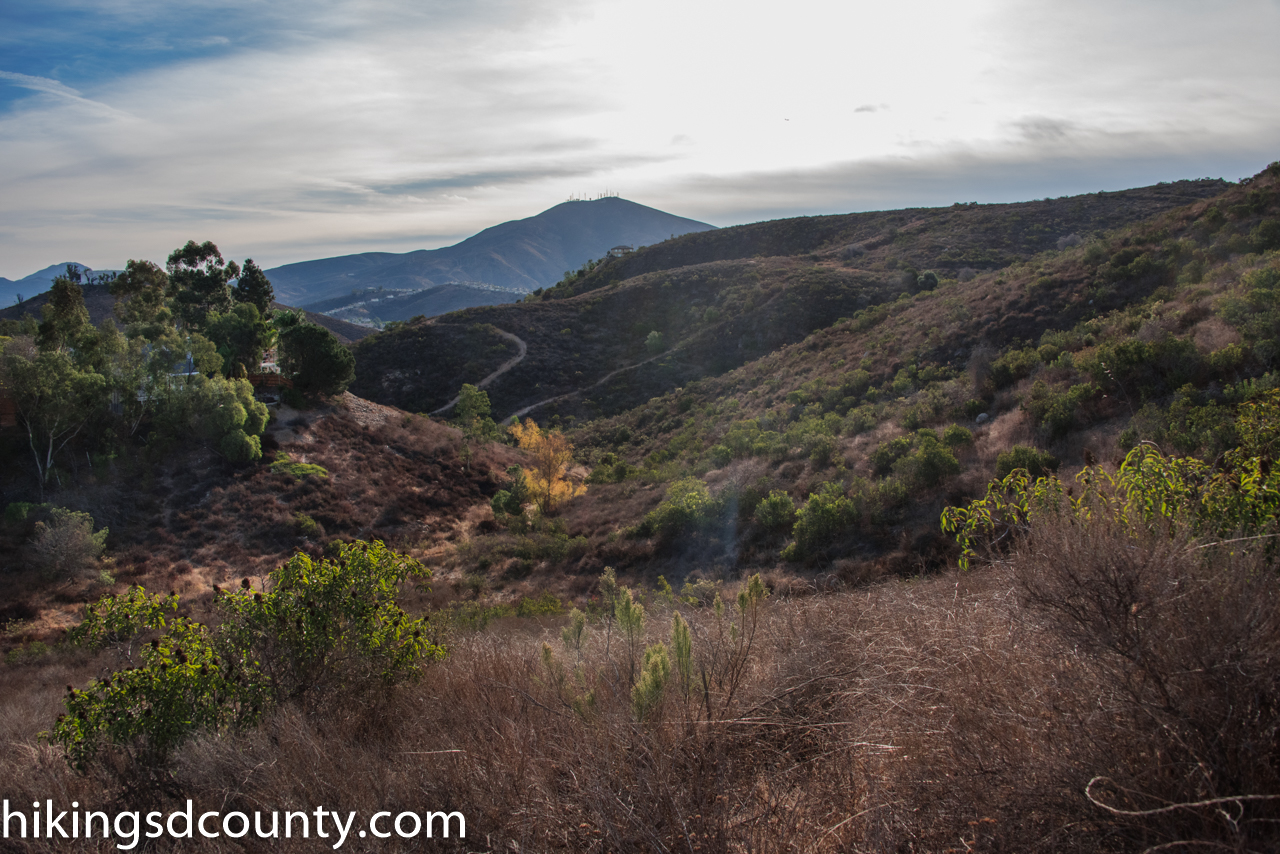 Dictionary Hill Open Space Preserve - Hiking San go County on