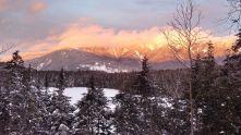 Franconia Ridge at Sunset