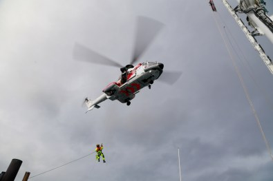 A search and rescue midway on our trip to Pyramiden