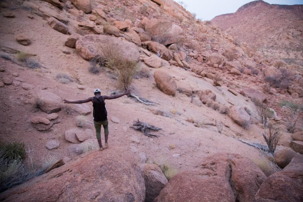 mg 2573 lr Camp Kipwe climb with Stanley