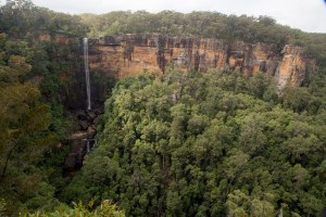 Fitzroy Falls from Jersey Lookout