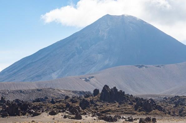 Mount Ngauruhoe from Oturere Valley