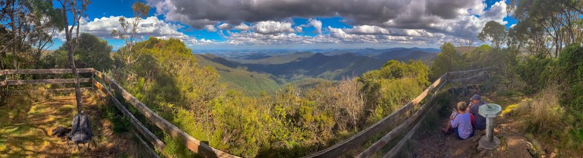 View from Careys Peak