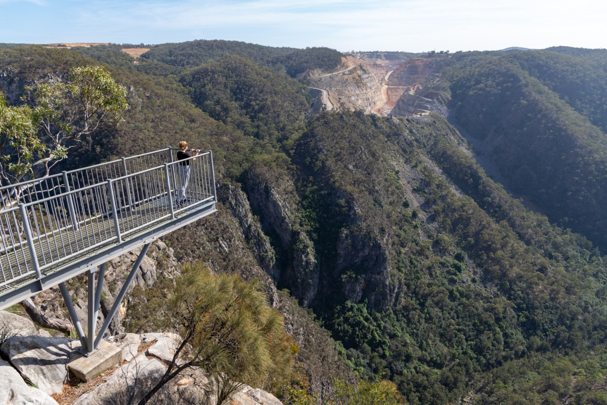 Bungonia Lookout