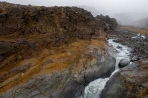 Whangaehu River cascades