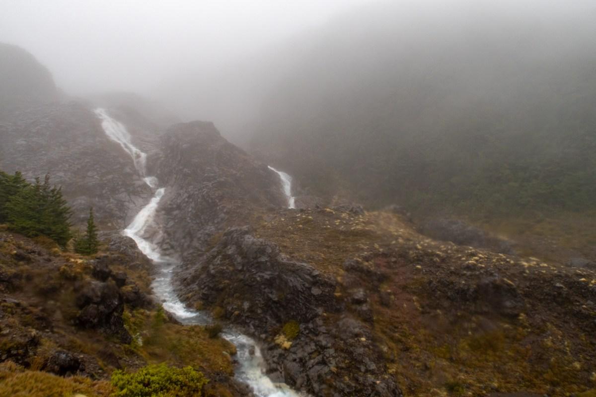 Mangaturuturu River cascades