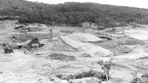 Boral quarry in 1972 (Source: Daily Telegraph, 18 January 2016)