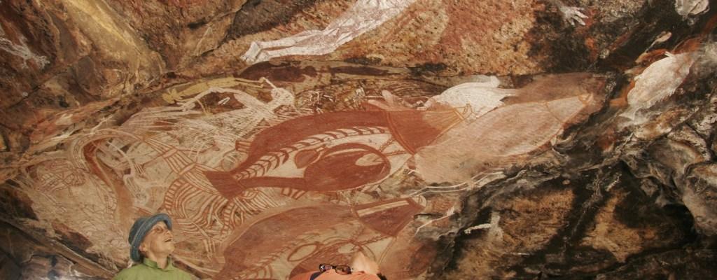 Gabarnmung rock art tour Indigenous Rock Art