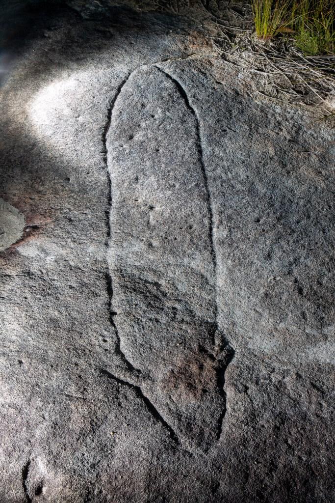 AWAT7140 LR Resolute Track Aboriginal engraving sites