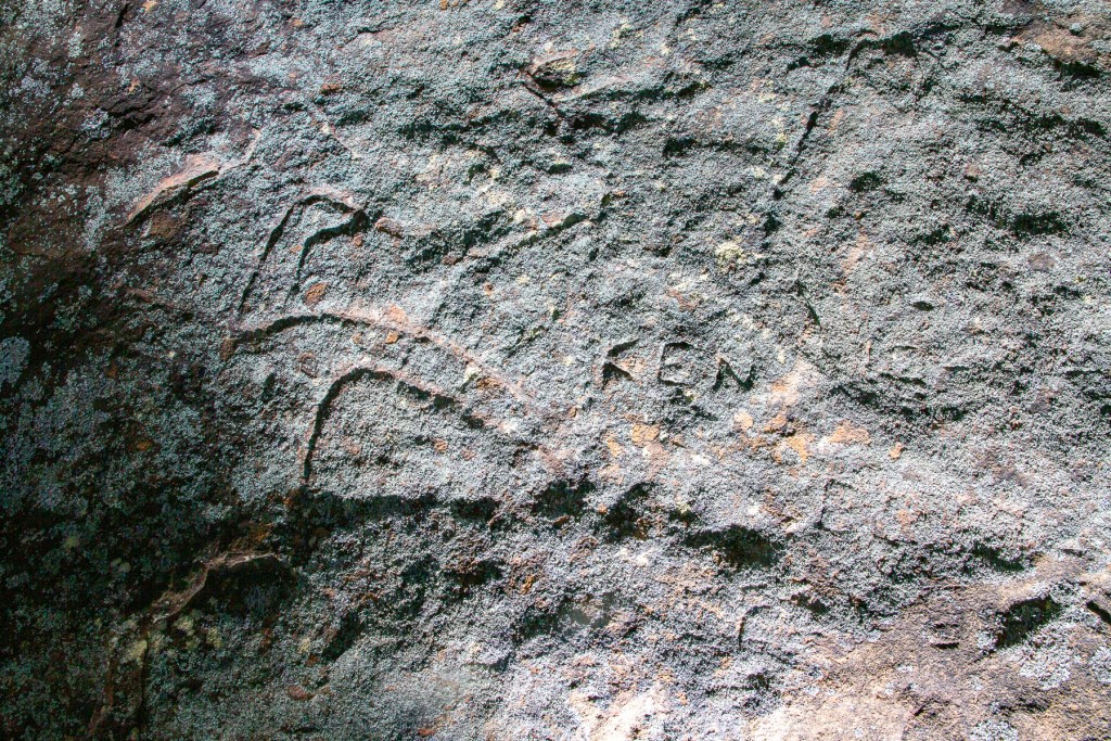 AWAT7270 LR Flint and Steel Point engravings