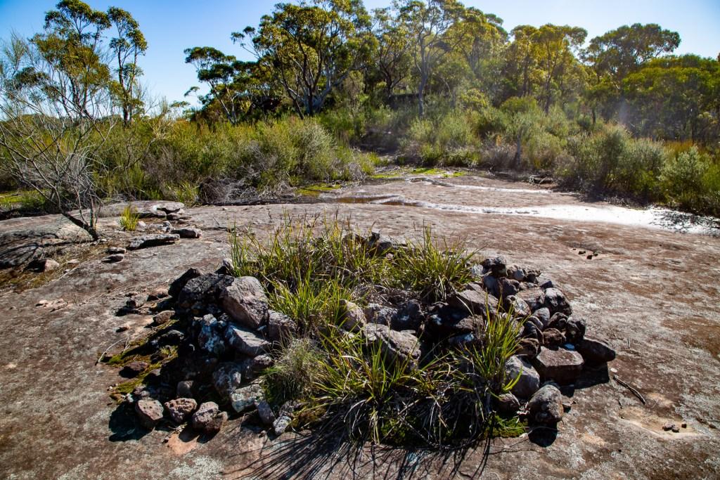 AWAT8976 LR Mount Murray Anderson - Two Deities