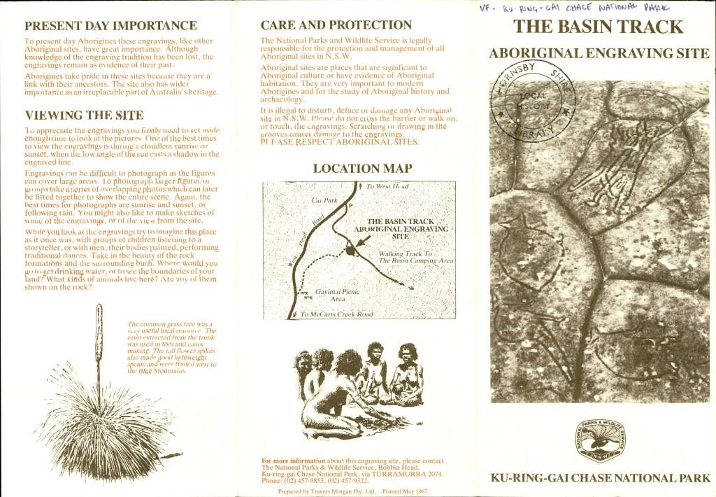Ku Ring Gai Chase S601365000.pdf.00036 Basin Aboriginal Site