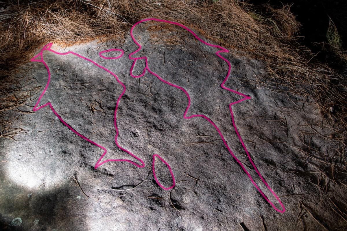 AWAT0765 LR highlighted Wheeler Heights Aboriginal Site