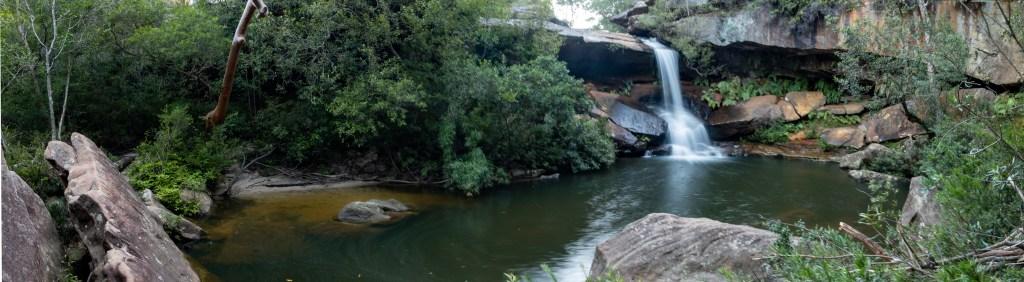 IMG 3596 Pano LR Upper Gledhill Falls (McCarrs Creek)