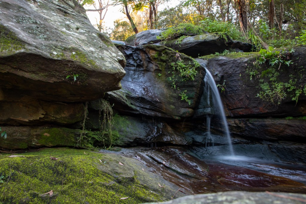 Magazine Track Waterfall
