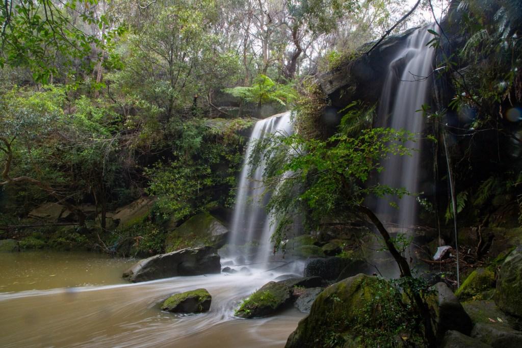 Blaxlands Falls or Buckham Falls