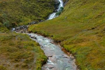 HPIM0903 LR Waterfall on Allt Daraich