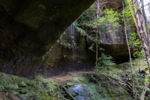 Splt Rock Track cascades