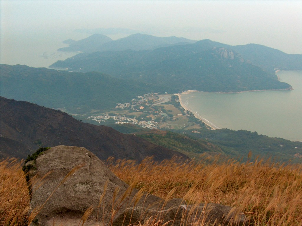 View of Pui O from Lantau Trail