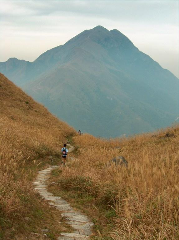 HPIM2687 LR Hiking the Lantau Trail - Mui Wo to the Big Buddha