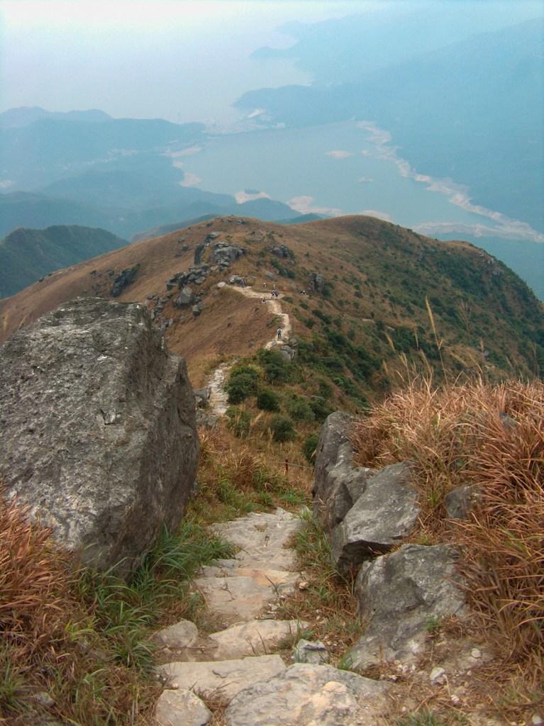 HPIM2710 LR Hiking the Lantau Trail - Mui Wo to the Big Buddha