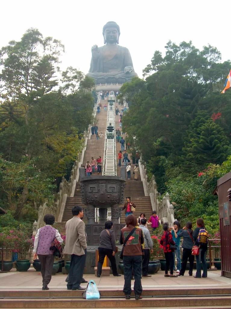 HPIM2714 LR Hiking the Lantau Trail - Mui Wo to the Big Buddha