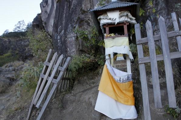Hindu shrine at 2,550m