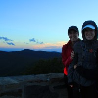 Attempting the Sunrise at Hawksbill Mountain
