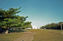 Fudbalsko igralište i katolička crkva - Trancoso Quadrado, Bahia 1997.