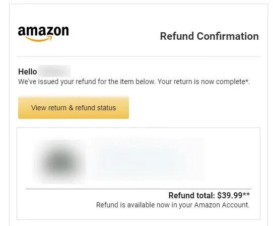 返品完了メール