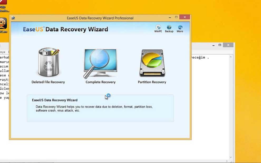 Windows Veri Kurtarma Programı