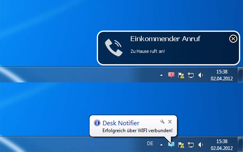 DeskNotifier: Windows PC'de Android bildirim alın
