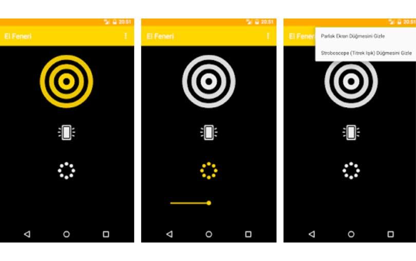 Android Reklamsız El Feneri Uygulaması İndir