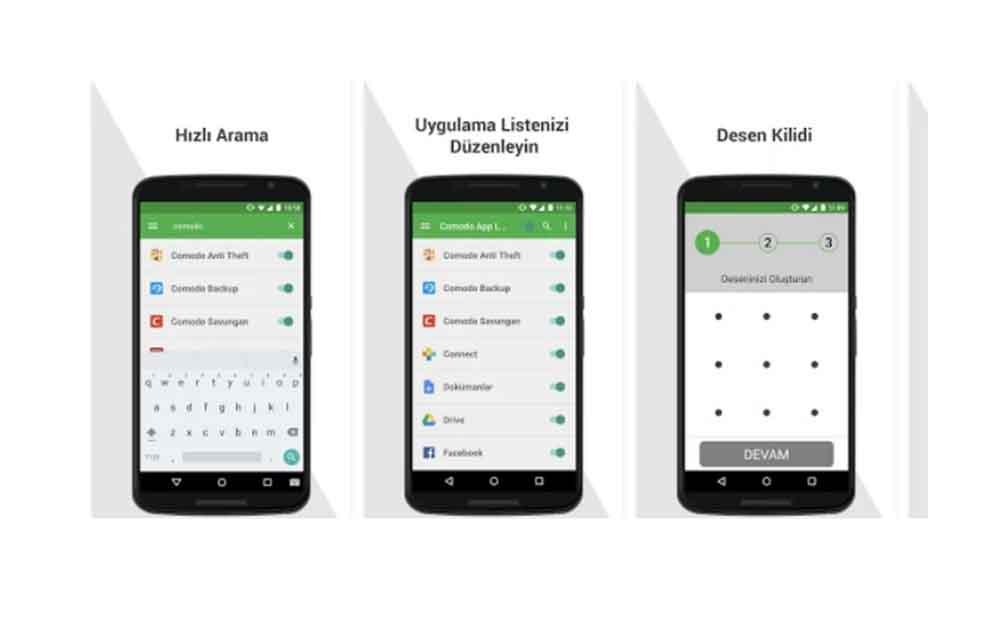 Comodo App Lock ile Android uygulamaları yetkisiz erişime karşı koruma