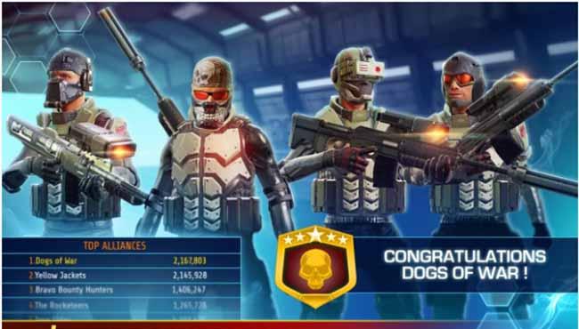 Kill Shot Bravo Android savaş ve silah oyunu indir