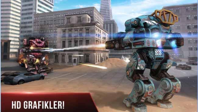 Robot War Fare: Android Aksiyon/Robot Oyunu indir