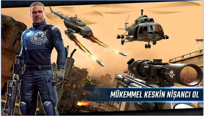 Sniper Strike - Special Ops savaş ve silah oyunu indir